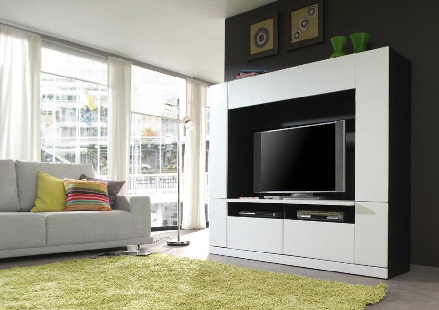 Panorama Tv Meubel.Tv Wand Panorama Idea Furniture