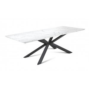 KRETA TABLE blanche
