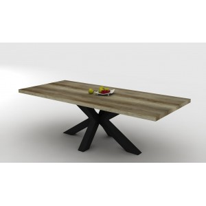 CELIO TAFEL 220 cm Canyon Monument Oak